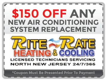 Air Conditioning System Replacement NJ Coupon