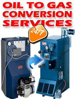 Oil to Gas Conversion Services NJ