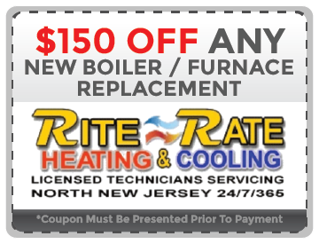 Boiler and Furnace Replacement NJ Coupon