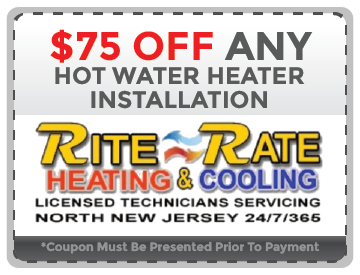 Hot Water Heater Installation NJ Coupon