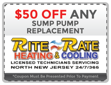 Sump Pump Replacement NJ Coupon